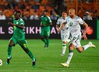 Senegal - Cezayir  maçından kareler...