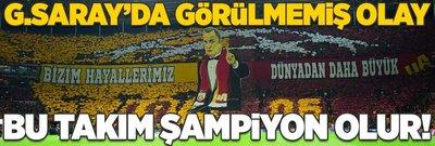 Galatasaray'da görülmemiş olay! Bu takım şampiyon olur