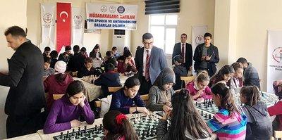 Hazro'da satranç müsabakaları