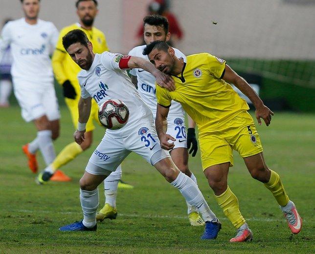 Menemen Belediyespor - Kasımpaşa maçından kareler