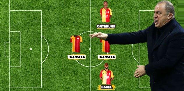 İşte Galatasaray'ın 6 adımda yol haritası!