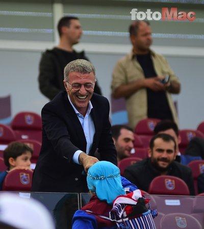 Trabzonspor Başkanı Ahmet Ağaoğlu'ndan transfer açıklaması