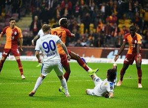 Galatasaray - Ankaragücü maçından kareler