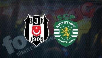 Beşiktaş Sporting Lizbon maçı saat kaçta? Hangi kanalda?