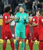 Bayern'in fark attığı maçta ilginç anlar!