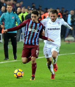Trabzon-Bursa maçına altyapı damgası