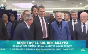 Beşiktaş'ta sol bek arayışı