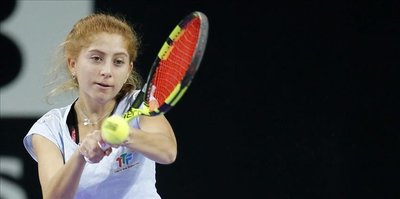 Turkish tennis player wins 2nd in Egypt tournament
