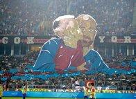 Hüzünlü koreografi | Trabzonspor-Sivasspor maçından görüntüler