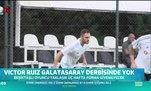 Victor Ruiz Galatasaray derbisinde yok