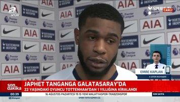 Japhet Tanganga Galatasaray'da!