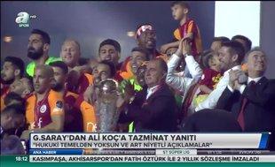 Galatasaray'dan Ali Koç'a tazminat yanıtı | Video