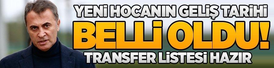 Yeni hocanın geliş tarihi belli oldu! Transfer listesi hazır