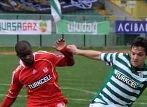 Bursaspor - Sivasspor (TSL 23. hafta maçı)