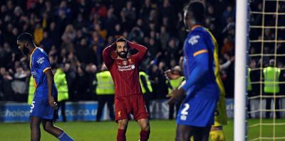 MAÇ SONUCU Shrewsbury Town 2-2 Liverpool