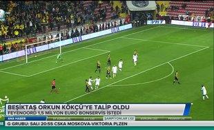 Beşiktaş Orkun Kökçü'ye talip oldu
