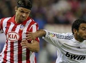 Atletico Madrid'in maçlarından kareler