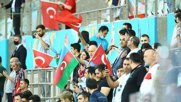 Bakü'de tam destek
