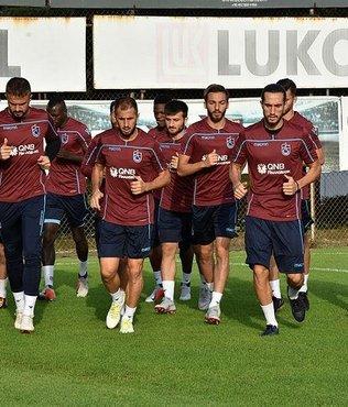 Trabzonspor'da, Büyükşehir Belediyesi Erzurumspor maçı hazırlıkları sürdü