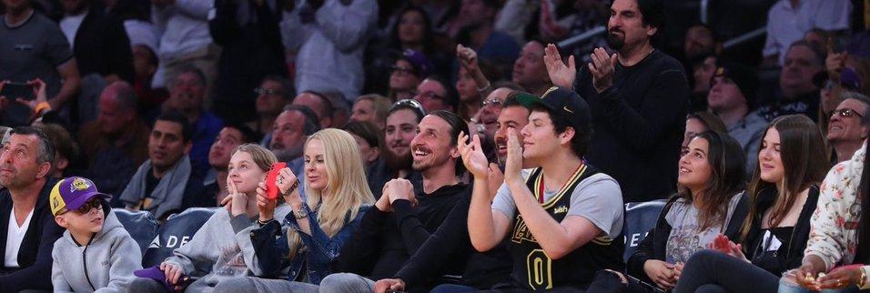 Ibrahimovic şimdi de NBAin yıldızı oldu