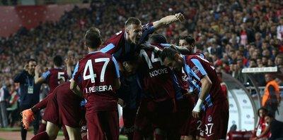 Trabzonspor kenetlendi