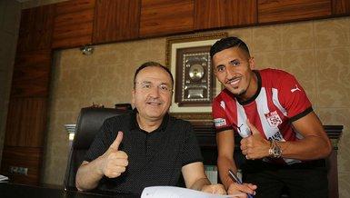 Fayçal Fajr Sivasspor'a 2 yıllık imzayı attı