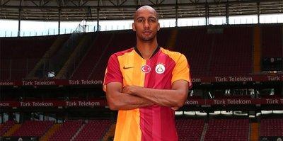 Galatasaray'da Nzonzi ilk antrenmanına çıktı