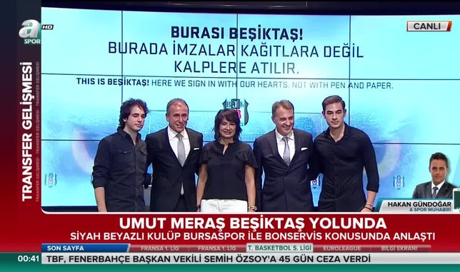 Umut Meraş Beşiktaş yolunda