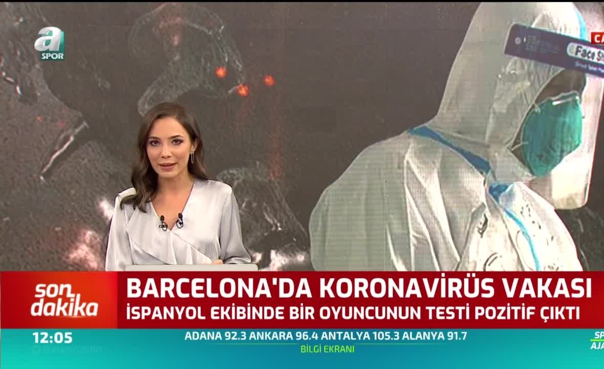 Barcelona'da corona virüsü şoku! Kulüp açıkladı - Son dakika Video videoları,  Video haberleri - Fotomaç