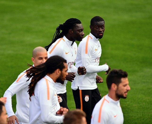 Galatasarayın sabah antremanından görüntüler
