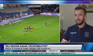 Edin Visca: İnşallah şampiyon Başakşehir olacak