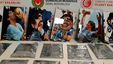 İstanbul'da Maradona operasyonu! Tablolarda kokain bulundu