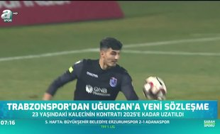 Trabzonspor'dan Uğurcan'a yeni sözleşme