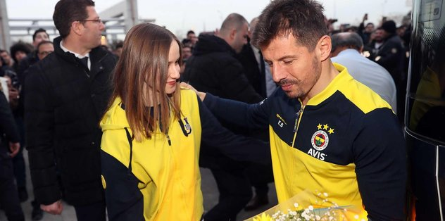 Fenerbahçe'ye Başkent'te coşkulu karşılama