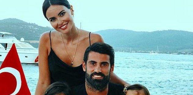 Eşi Zeynep'ten Volkan'a destek