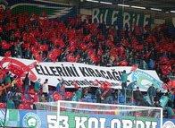 İşte Çaykur Rizespor-Beşiktaş maçından kareler