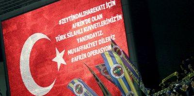 Fenerbahçe'den Afrin Harekatı'na destek