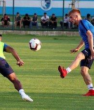 Büyükşehir Belediye Erzurumsporda Beşiktaş maçı hazırlıkları