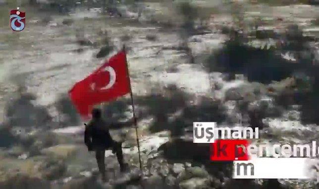 Trabzonspor'dan Barış Pınarı Harekatı'na destek
