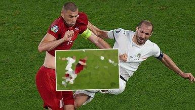 Son dakika EURO 2020 haberleri: Türkiye İtalya maçında o pozisyonda penaltı bekledik! Burak Yılmaz...