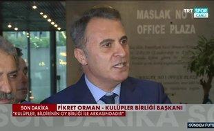 Fikret Orman'dan Mustafa Cengiz yanıtı