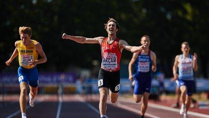 Son dakika spor haberi: Milli atlet Berke Akçam Avrupa şampiyonu