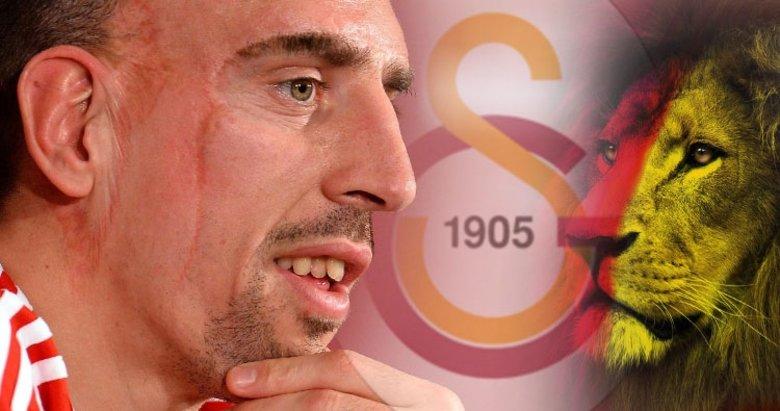 Ve bombayı patlattı... Ribery böyle duyurdu! Galatasaray...