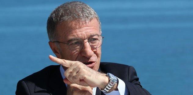Trabzonspor Başkanı Ahmet Ağaoğlu'ndan TFF'ye sert mesaj: 80 milyon liramı geri verin!