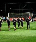 A Milli Takım, İsveç maçının hazırlıklarına başladı