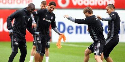 Beşiktaş Lyon'a hazırlanıyor