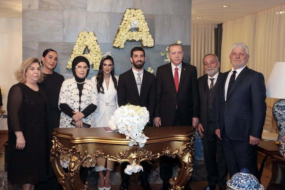 Arda Turan ve Aslıhan Doğan'ın nikahının detayları