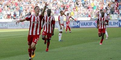 Sivasspor'da galibiyet sevinci!