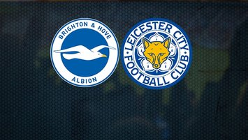 Brighton Hove Albion Leicester City maçı saat kaçta hangi kanalda?