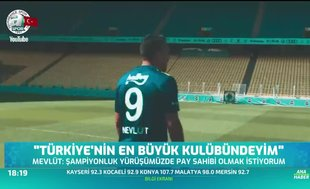"""""""Türkiye'nin en büyük kulübündeyim"""""""